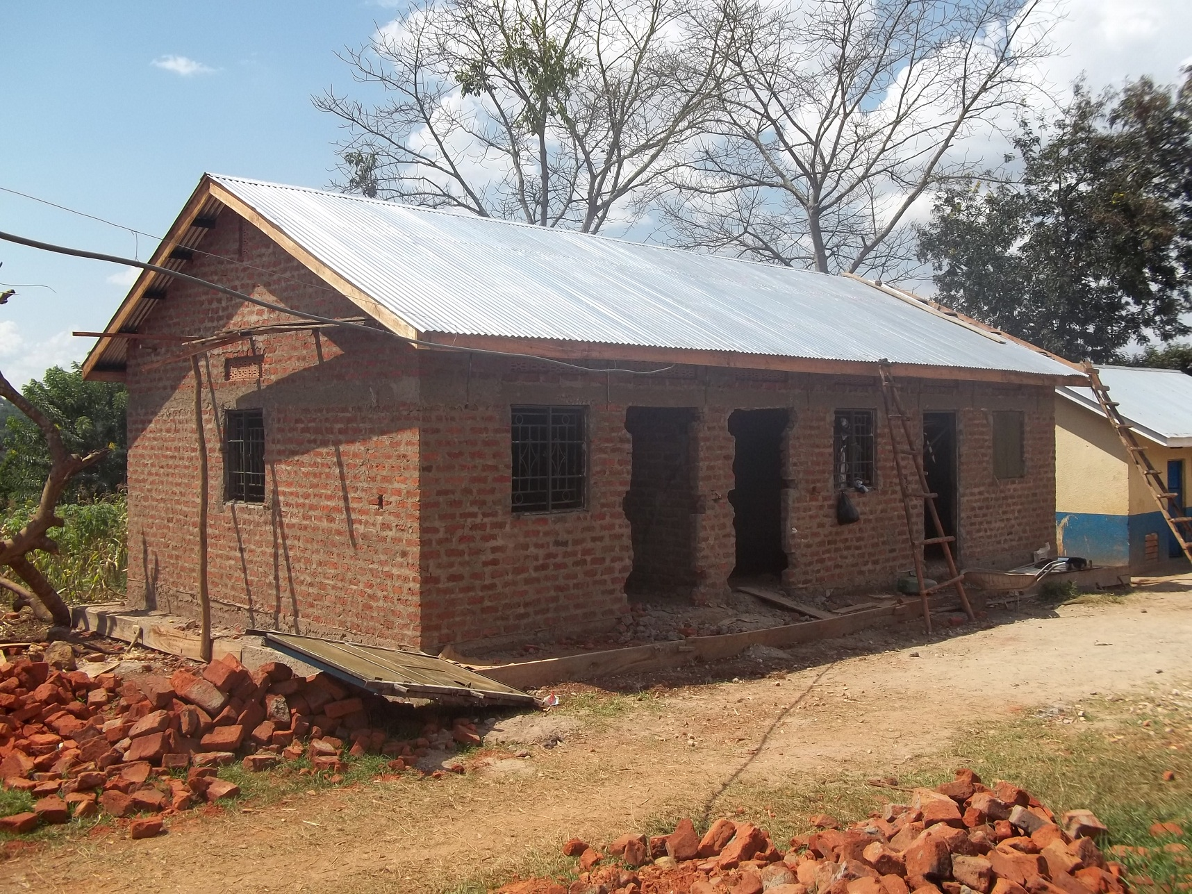 Brick By Mud Brick Andy And Linda Blog A Year 39 S Construction In East Africa